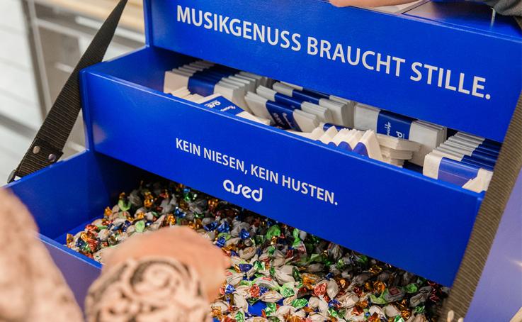 ein Bauchladen von ased im Konzerthaus Dortmund